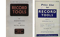 MainPage Record Tools Catalogue No 16